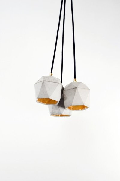 [T2]Bundle Pendant Light Triangle