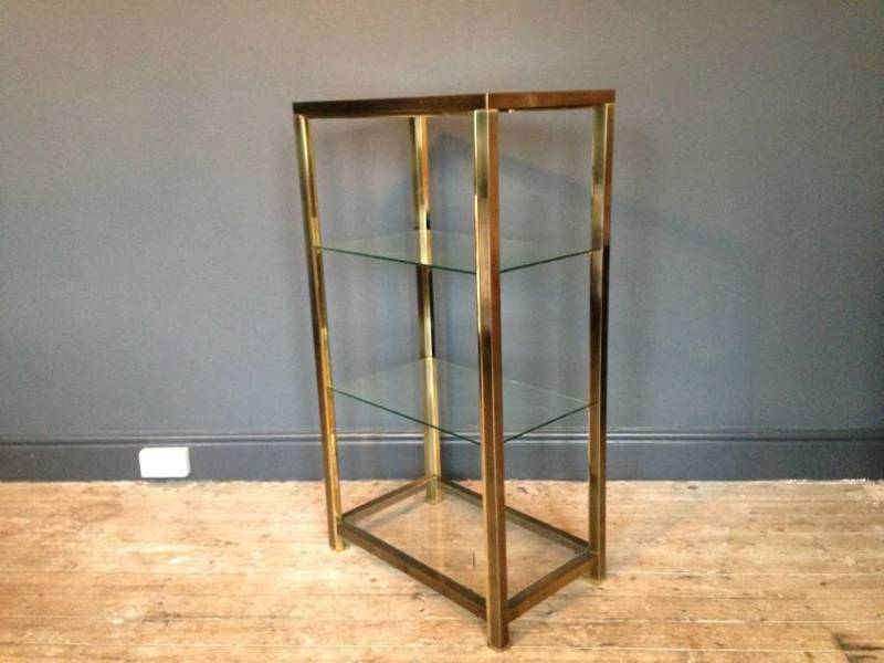 Bronzed And Gilt Metal Etagere